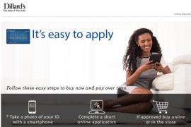 dillard credit card benefits
