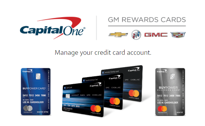gm credit card